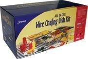 24-Piece Kingsmen Chafing Rack Kit by Maryland Plastics Inc.