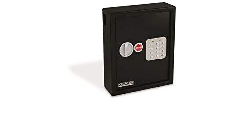 Kreator Elektronischer Schlüsselkasten Schlüsselschrank 36x30x10cm für 48 Schlüssel