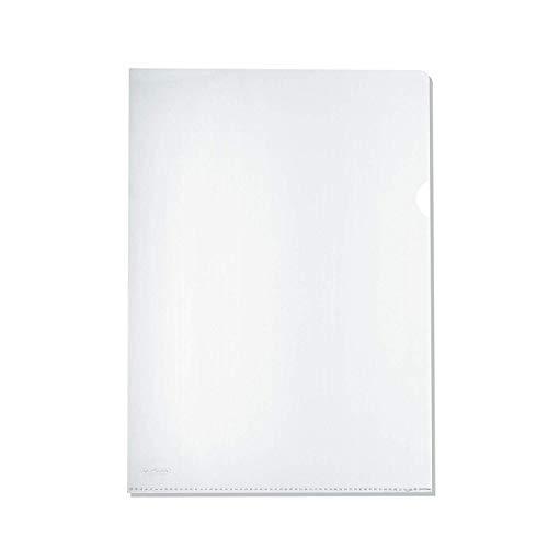 Herlitz 10843746 Aktenhülle A4 Standard , PP, 0,11 mm, transparent glasklar 100er Packung