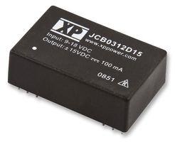 3w Single (DC/DC CONVERTER, 3W, SINGLE 15V O/P JCB0312S15 By XP POWER)