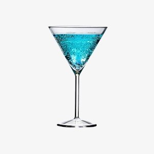 c Martini Glass (Pack of 4) ()
