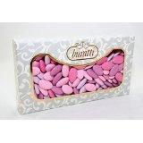 Idea Regalo - Confetti Buratti Al Cioccolato Multicolor Sfumati 1 Kg (Lilla - Primavera)