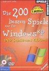 Die 200 besten Spiele nur für Windows XP (DVD-RO