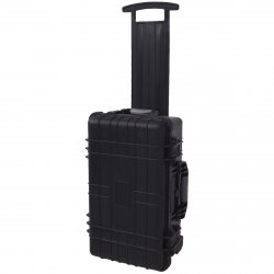 vidaXL Wheel-equipped Tool/Equipment Case with Pick & Pluck Transport Carrier