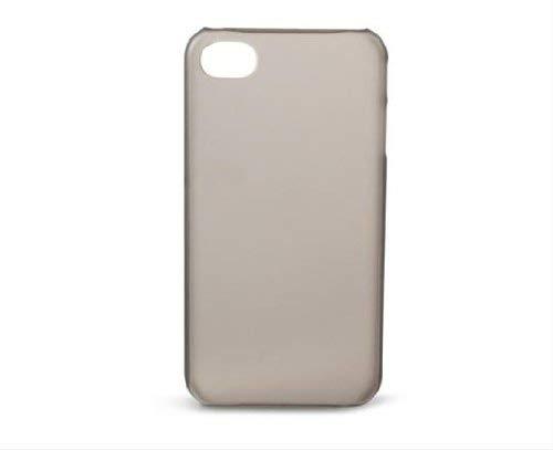KSIX B0917CAR66 Cover für Apple iPhone 4/4S Translucent/Smoke Translucent Smoke Cover