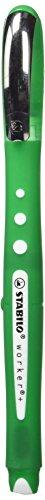 Stabilo 216875 Kugelschreiber Roller Worker Colorful, grün