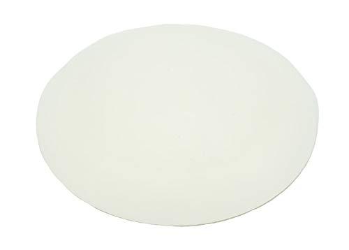 10 Stück Türpuffer 40 mm versch. Farben für Wand oder Boden selbstkleben oder zum Schrauben (Transparent)