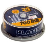 BestMedia CD-R/ 700MB Platinum CD-Rohlinge 80 Minuten 52x speed Spindel (25 Stück)