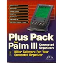 Plus Pack for Palm III Connected Organizers, 1 CD-ROMKiller Software for Your Connected Organizer. Golf Score Tracker, Clock/Calendar, Quiz/Leraning Tool, Sound Program, Image Viewer, Palm Platform Compatible C Compiler, Language Translator. For Windows 95