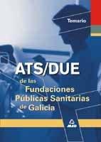 Ats de las fundaciones publicas sanitarias de galicia. Temario