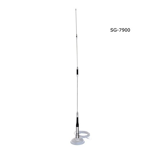 Mobileantenne 2m 70cm Huanuo SG-7900 Duoband VHF UHF Funkgerät Antenne Kurz für Car Mobile Transceiver FT-8900R TYT TH-9800 Wouxun KG KG-UV950p KG-UV920R QYT KT-7900D KT-UV980 Plus - Antenne Transceiver