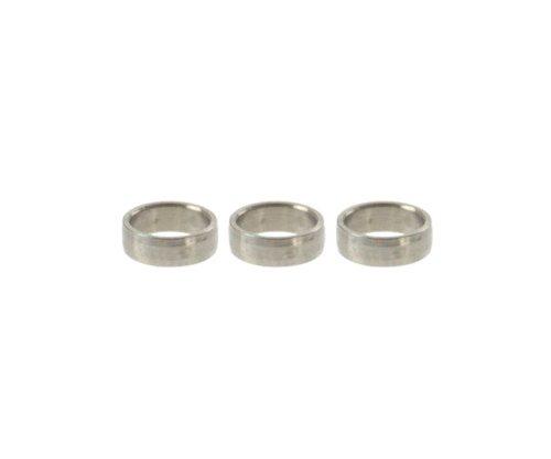 Target Titanium Slot Lock Rings Ringe, 3 Stück