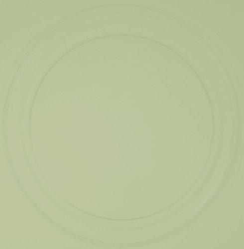 Mikrowellenteller / Drehteller / Glasteller für Mikrowelle # ersetzt HTech Mikrowellenteller # Durchmesser Ø 36 cm / 360 mm # Ersatzteller # Ersatzteil für die Mikrowelle # Ersatz-Drehteller # OHNE Drehring # OHNE Drehkreuz # OHNE Mitnehmer