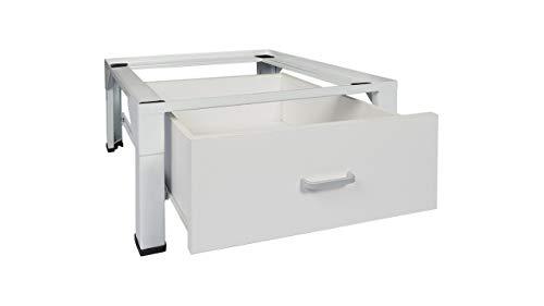 #Standart Untergestell für Waschmaschine oder Trockner Sockel Podest Erhöhung Unterschrank für Kühlschrank, Hochwasserschutz. NEU MIT SCHUBLADE#