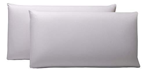 Pikolin Home - Pack de 2 fundas protector de almohada lyocell, impermeables, 40x90cm,Todas las medidas...