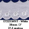 225 weiß Broderie AnglaisCity in Quebec Canada Broderie Trim
