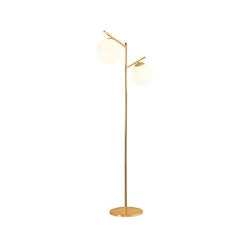 Floor Stand Lights - Lámpara de pie con Bola de Vidrio, Dormitorio...