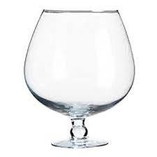 XXXL Gigante, enorme bicchiere, ballon, snifter, cicchetto di cognac di vetro trasparente chiaro, un'altezza di (Vaso Di Vetro Bicchiere)