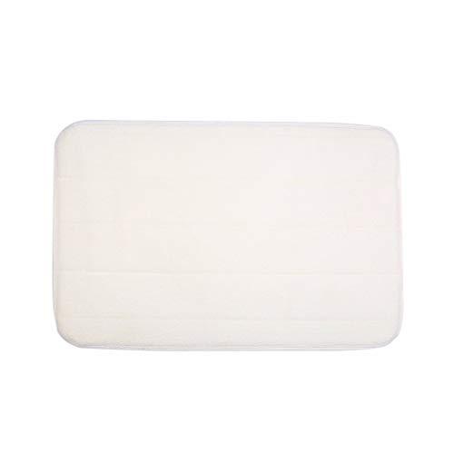 YWLINK Rutschfeste Duschmatte Teppich Memory Foam Carpet Bath Badezimmer Schlafzimmer FußMatte Einfarbig SaugfäHig Leicht Zu Reinigen