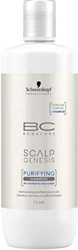 Scalp Genesis Purifying Shampoo Schwarzkopf Professional Bonacure für normales Haar 1000 ml -