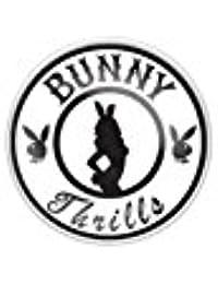 Paula & Fritz® Ombligo de Acero Inoxidable Acero Quirúrgico 316L Playboy Bunny aufdruck pbns01