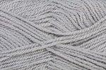 5er Packung Gründl Wolle LISA, 50 g, 100 % Polyacryl, Farbe 24 (hellgrau)