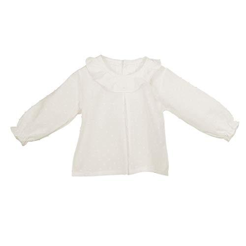 CALAMARO - Camisa PLUMETI BEBÉ bebé-niños Color: Crudo Talla: 24M
