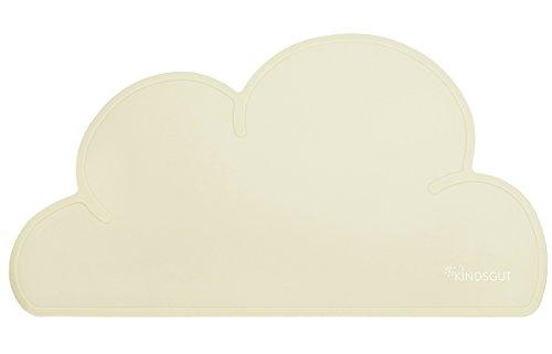 Kindsgut - Salvamantel infantil en forma de nube, crema