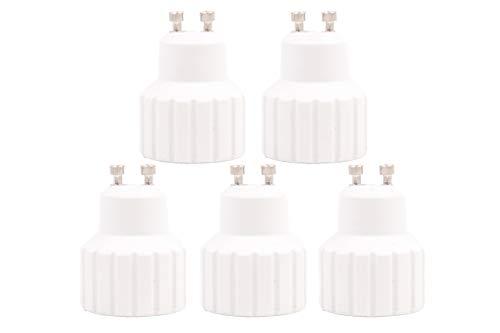 Lampensockel Adapter Konverter Verlängerung - GU10 auf GU10 Fassung Sockel Lampenadapter - Lampensockeladapter für LED Halogen Lampen