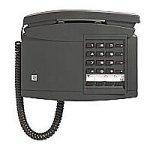 ebundenes Wand-Telefon schwarzgrau (Wand-schnurgebundenes Telefon)