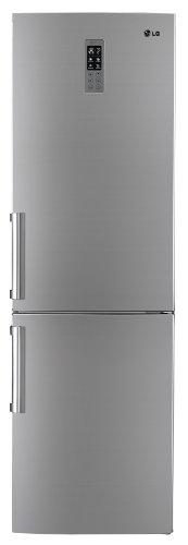 LG GB5237PVFZ Kühl-Gefrier-Kombination / A++ / Kühlen: 227 L / Gefrieren: 108 L / Premium Platinum / Total No Frost  / LED Innenbeleuchtung