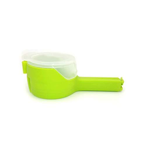 Monllack Beutelverschlussklammern Lebensmittel Snack Lagerung Chip Verschlussklammer mit Ausgusstülle Luftdichte Grip Sealer Tools für die Küche Home Office