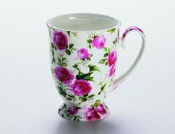 Maxwell & Williams S56958 Royal Old England Becher auf Fuß, Kaffeebecher, Tasse, Motiv:...