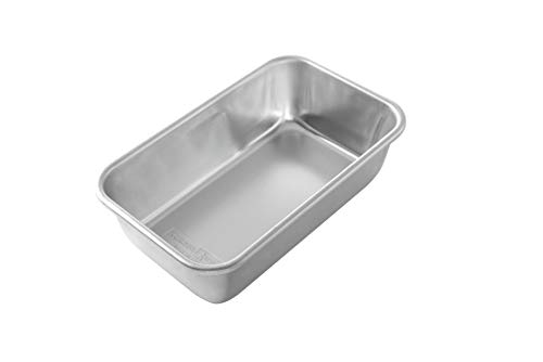 Nordic Ware Natural Aluminum Commercial Loaf Pan, 1.5 Pound 1.5 Lb Loaf Pan