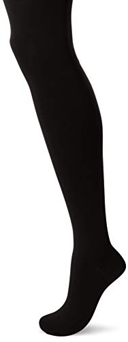 Medium Support-strumpfhosen (Wolford Damen Vekvet 66 Leg Support Strumpfhose, 65 DEN, Schwarz (Black 7005), Medium)