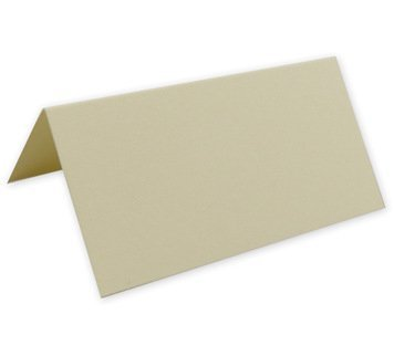 Lot de 50 cartes de Table Ivoire
