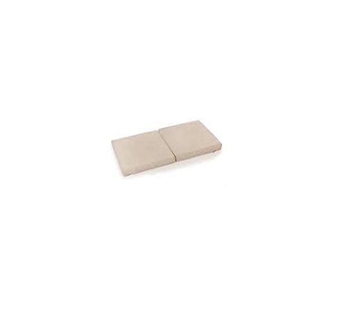 Hauck Sleeper SQ - Colchón de espuma de 90 x 90 cm, plegable, materiales transpirables, apto para cuna de viaje Sleep 'n Play SQ, como base de zona de juegos, color beige