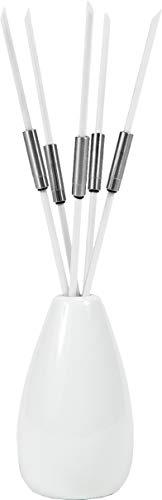 Zilofresh 18221 Raum-Sticks Weiß,  5er Set, 0,8 x 25cm,  neutralisiert unangenehmen Raumduft, ohne chemische Zusätze, Made in Germany