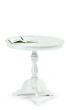 Lo scrigno arredamenti, tavolino rotondo da salotto classico w1013/l