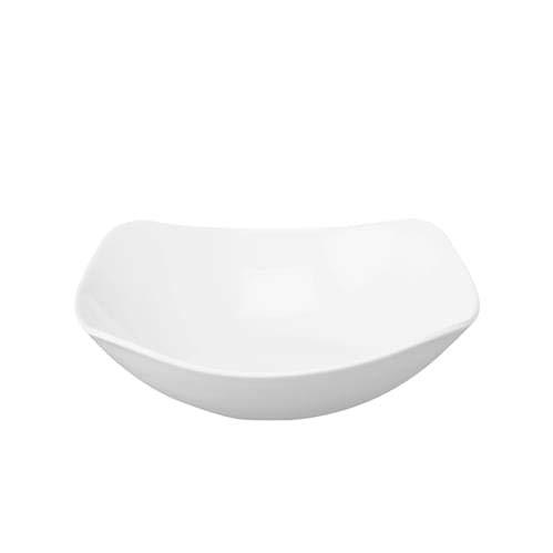 Churchill Super Verglastes W476Uni Ware X kariert Schalen, 175mm, weiß (12Stück) Polycarbonat-square Plate
