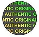 Diamond Hologram Stickers Original Authentic, 15mm, 4050pcs Round
