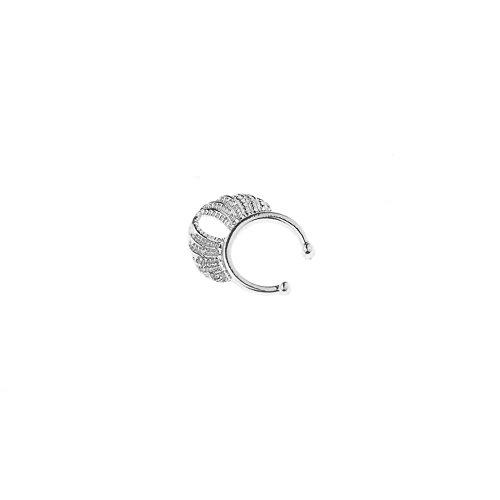 Trendige Damen zhuotop Krone Nase Clip Gold/Silber Sexy Nase Ring Ohrstecker silber