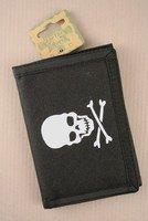 Skull and Crossbones Pirate's Wallet