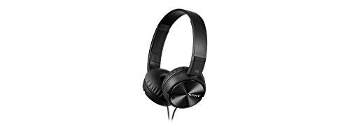 Sony Kopfhörer MDR-ZX110NA faltbarer Bügelkopfhörer mit Digital Noise Canceling, schwarz - 3