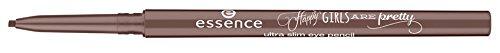 Essence Happy Girls are pretty - ultra slim eye pencil Nr. 02 The Choco side of life Farbe: Braun...