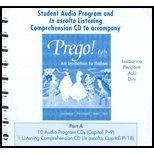 Prego: An Invitation to Italian, Student Audio Cd Program, Part a (Italian Edition) by Graziana Lazzarino (2004-06-15)