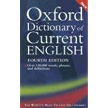 Oxford Dictionary of Current English by Sara Hawker (2006-09-07)