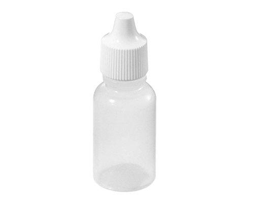 24 Stück 50ml/1.67oz Leere Plastikaugen-Tropfen Flasche / Dropper Flasche / Tropfenflaschen - mit Dichtungsring - Kosmetikflaschen Halter-Behälter - Groß für Spielraum-Verpackung 1 Unze Blauen Glasflaschen