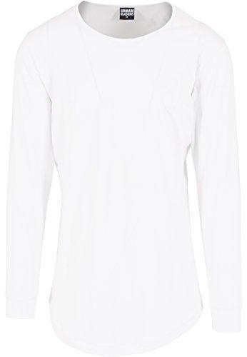 Preisvergleich Produktbild Urban Classics TB1101 Long Shaped Fashion L / S Tee T-Shirt langarm Shirt Herren
