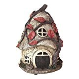 Solar Powered Garden Fairy House of Maisy Dawnstorm 25cm